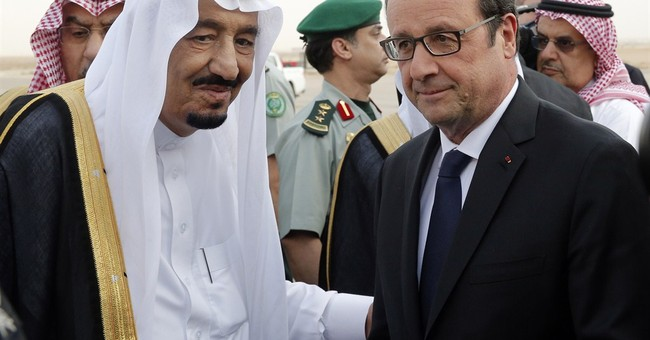 French president visits Qatar, deepening ties to Gulf