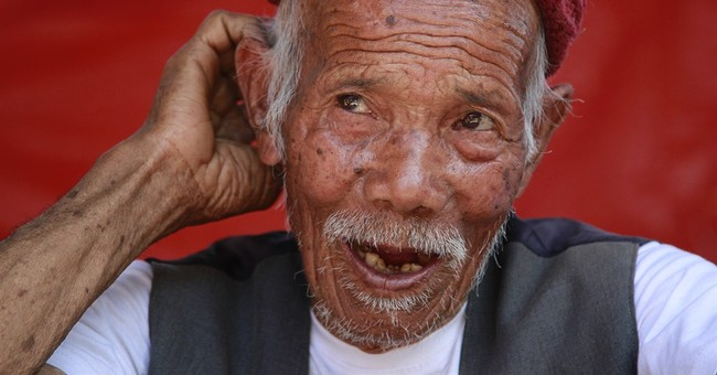 Centenarian survives Nepal quake, worries he's testing fate