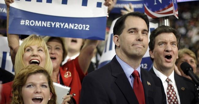 Walker critical of Romney in 2012, Bush in 2000