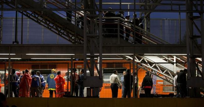 Metro trains crash in Mexico City, injuring 12