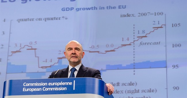 EU raises eurozone forecast despite bleaker Greek outlook