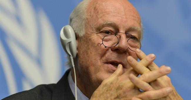 UN envoy starts consultations on Syrian civil war in Geneva