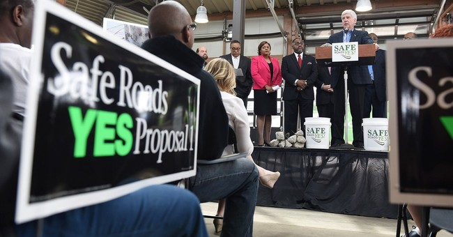 Michigan voters defeat tax increases for road work
