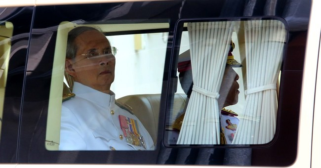 Thailand's 87-year-old king makes rare public appearance