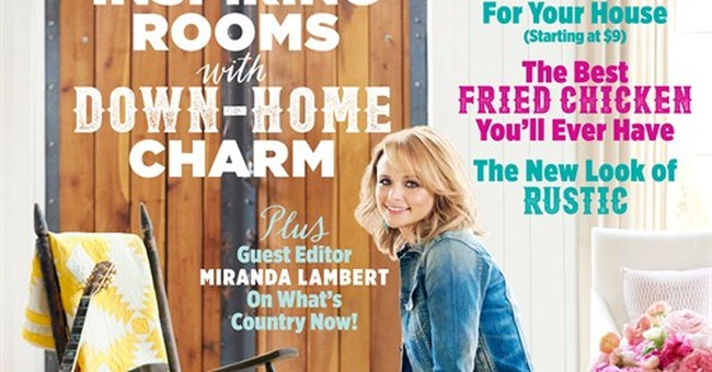 Miranda Lambert becomes Country Living's first cover girl