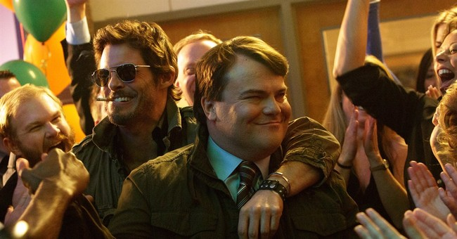 Shifting in a new direction, Jack Black rides 'The D Train'