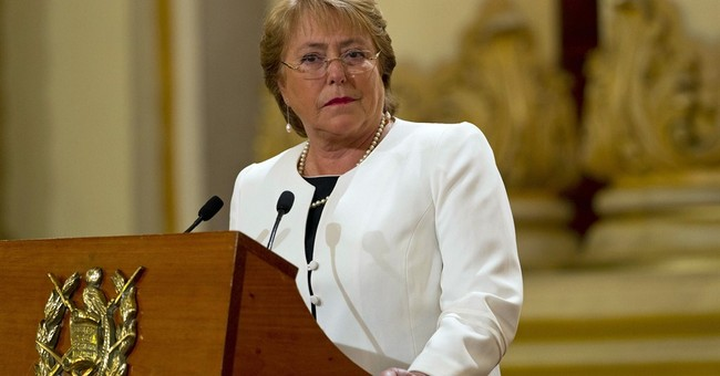 Chile's Bachelet asks ministers to resign