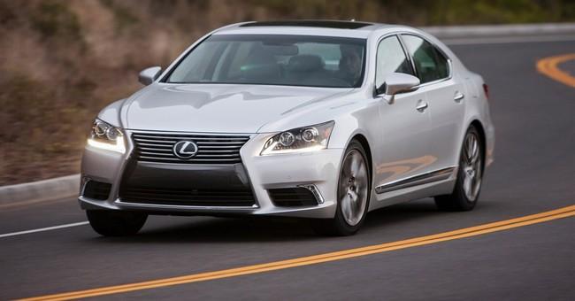 Lexus flagship: A car or a haven?