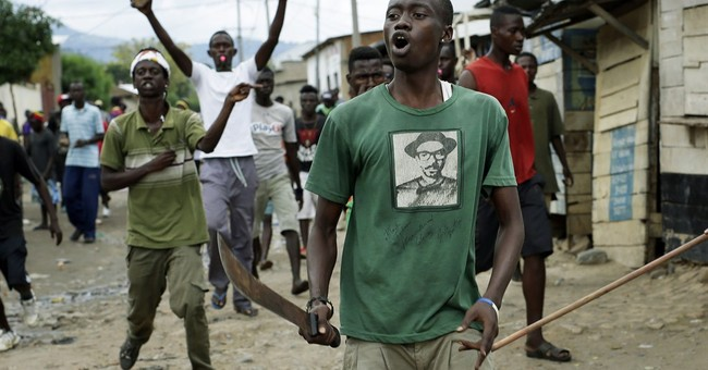 Burundian opposition leader arrested as protests continue