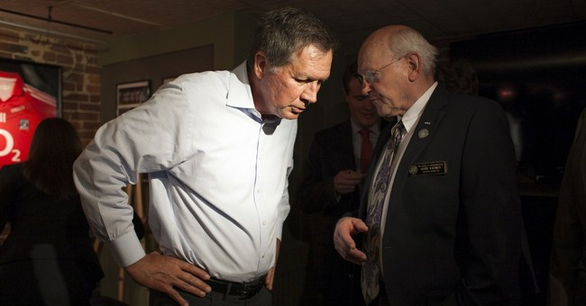 No Clinton-bashing for Ohio Gov. John Kasich