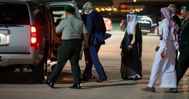 Kerry seeks pause in Yemen war as he arrives in Saudi Arabia