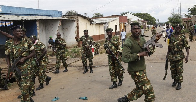 A man narrowly escapes Burundi mob with help of the army