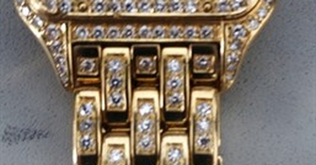 Friend picks up $100K watch left behind at airport security