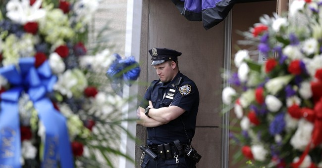 Wake held for NYPD officer shot in the head while on duty