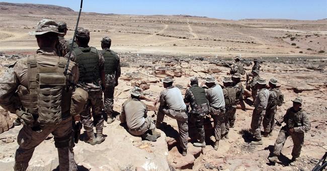 Syrian rebel training has started in Jordan