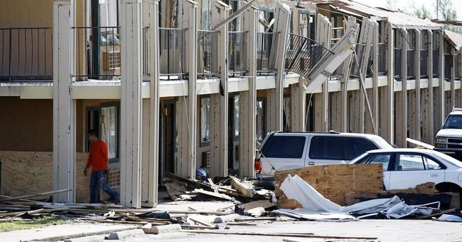 AP PHOTOS: Storms cause damage across Tornado Alley