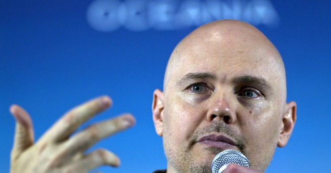 Corgan rocks outside ring as writer for TNA Wrestling