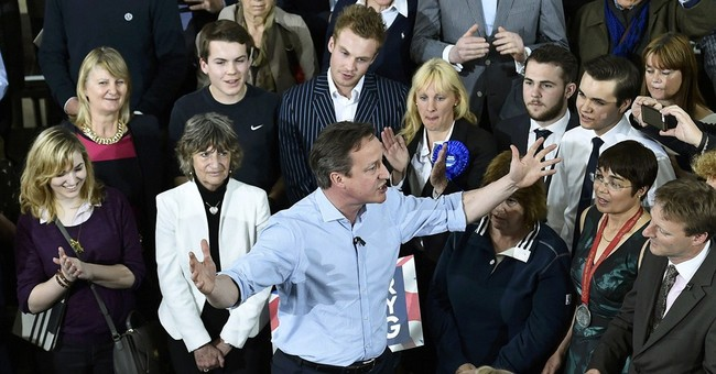 UK's personable David Cameron fights for political life