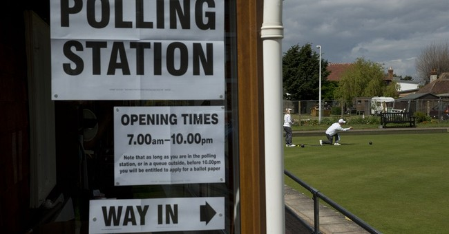 AP PHOTOS: Windmill, Laundromat among weird UK polling stops