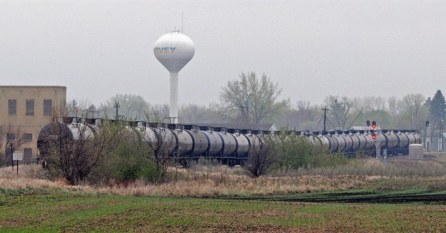 Oil in North Dakota derailment was treated to cut volatility