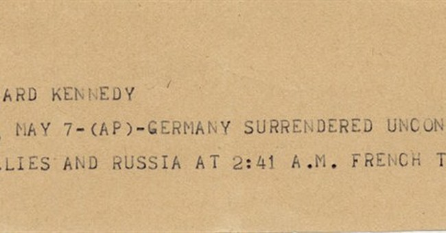 AP Was There: Germany surrenders to Western allies, Russia