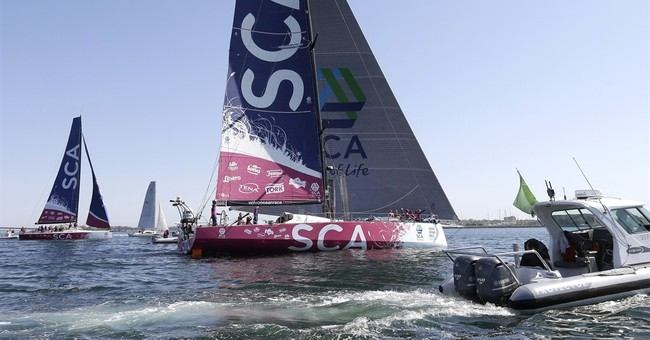 Chinese crew wins tight finish to Newport in Ocean Race