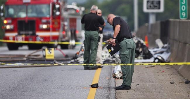 Small plane crashes into busy Atlanta interstate; 4 killed