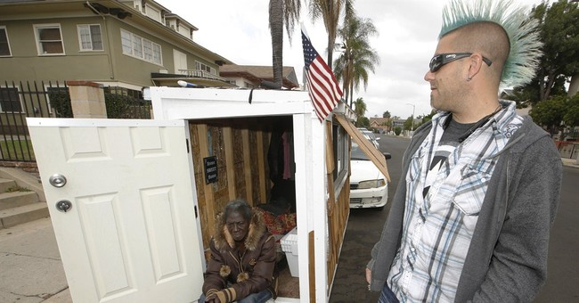 Building tiny houses into big help for Los Angeles' homeless