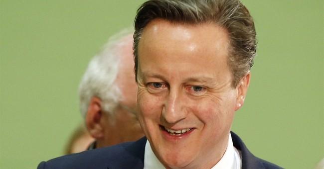 UK's Cameron strong as Scotland debacle ruins Labour bid