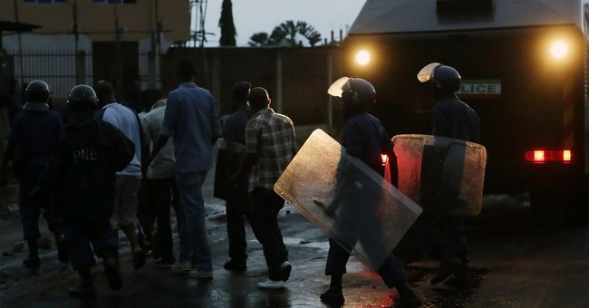 Burundi president registers as candidate despite protests