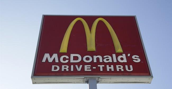 McDonald's key sales figure dips in April