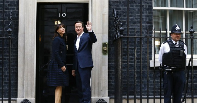 Unexpected triumph means Cameron can govern UK on his own