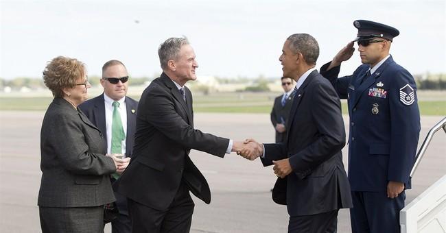 An Obama milestone: South Dakota visit makes it 50 states
