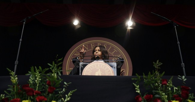 Michelle Obama addresses Tuskegee University graduates