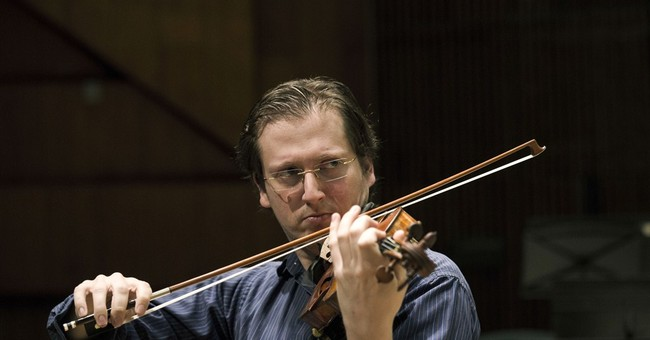 American-Israeli is new first fiddle in Israel orchestra