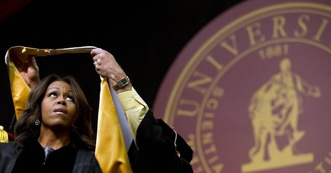 Michelle Obama addresses Tuskegee University graduates