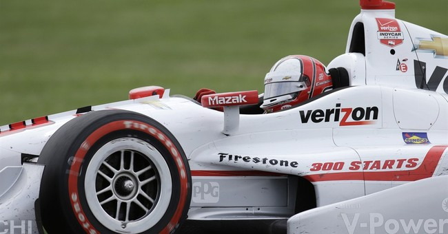 IndyCar penalizes Castroneves 8 points after Indy GP wreck