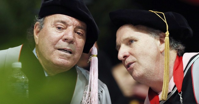 Julio Iglesias receives honorary degree from Berklee