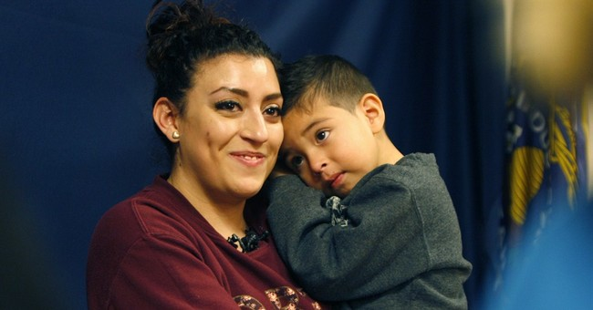 Boy driven away in stolen car is found after answering phone