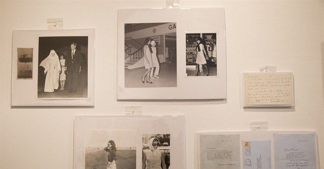 Notes, photos of Jacqueline Onassis auctioned for $28,400