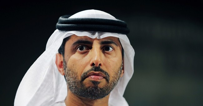 UAE energy minister: No change in OPEC policy amid oil slide