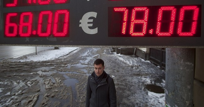 Moody's cuts Russian government's bond rating