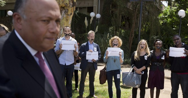 Kenya journalists protest over detained colleagues