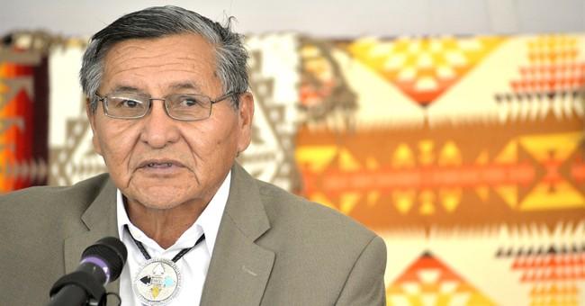 Navajo president sworn in despite losing re-election