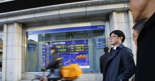 Asian shares meander after Wall St drifts, oil prices drop