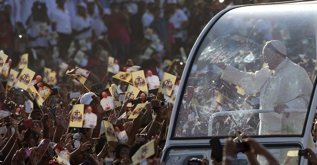 Pope heading to Philippines, where adoring crowds await