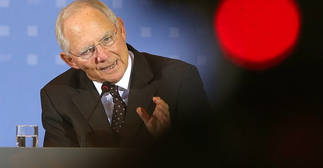 Germany's Schaeuble reaffirms will to keep Greece in euro