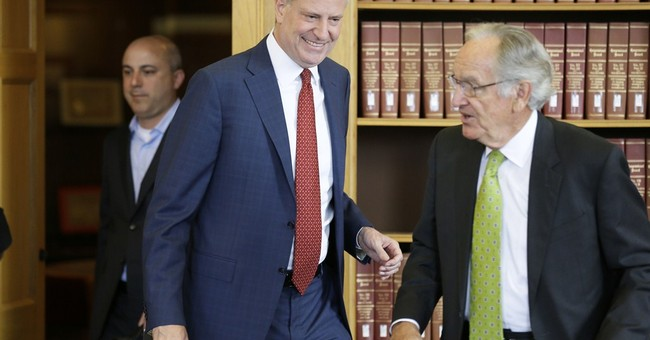 Does NYC mayor, now a national figure, risk trouble at home?