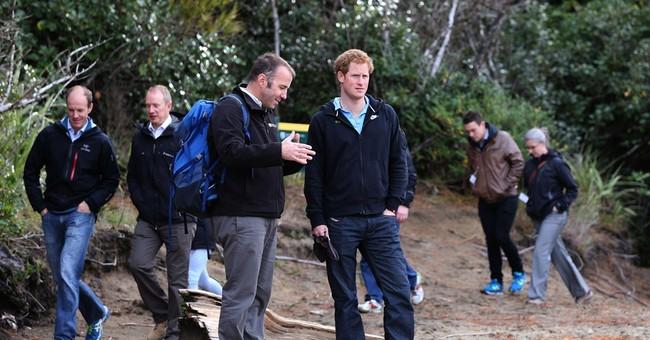 Prince Harry tells New Zealand kids he calls Queen 'granny'