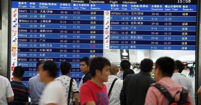 Plane from China's Joyair swerves off runway, injuring 5